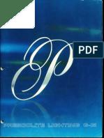 Prescolite Lighting Catalog G-15 1966