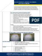 Información Servicio de Concreto Lanzado - Shotcrete UNICON