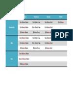 Tabela Feia