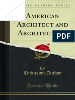 American Architect and Architecture 1000000501