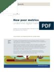 How Poor Metrics Undermine Digital Marketing