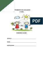 INSTRUMENTO DE AVALIAÇÃO 2 ANO