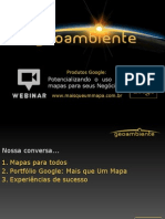 Webinar Geoambiente - Google Maps