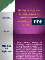medidasdedispersinderangodesviacinmediacuarticularestandarycoeficientedevariacin-100902142326-phpapp01