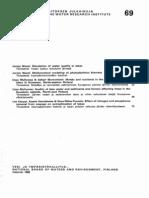 Vesientutkimuslaitoksen julkaisuja 69 sivut 16-32