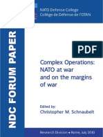 Paradox of Complexity in Strategy - J Pam Chapter in NATO Defense College Forum Paper on Complex Operations (Jul 2010)