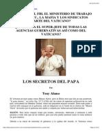 Los Secretos Del Papa Por Tony Alamo