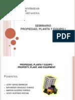 Propiedad, Planta y Equipo (1)