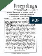 Proceedings-Vol 08 No 09-April-May-June-1969 (George Van Tassel)