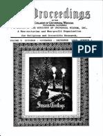 Proceedings-Vol 09 No 01-Oct-Nov-Dec-1969 (George Van Tassel)