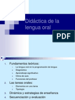 Didactica de La Lengua Oral, Documento