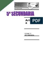 MATEMATICA - 5º ARITMETICA