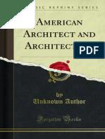 American Architect and Architecture 1000000626