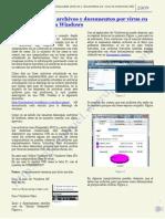 Como desocultar archivos y documentos por virus en memorias USB