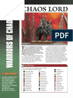 White Dwarf  'Eavy Metal Masterclass Chaos Lord