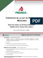 Contratos de La Ley de PEMEX. SOQ