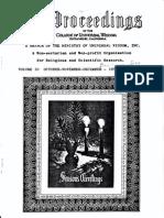 Proceedings-Vol 10 No 10-Oct-Nov-Dec-1975 (George Van Tassel)