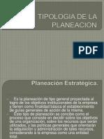 Tipolojia de La Planeacion 2