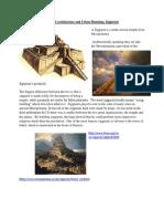 monumental architecture and urban planning  ziggurats