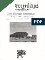 Proceedings Vol 11 No 11 Nov Dec Jan 1978 79 (George Van Tassel)