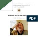 Vasquez Rocca, Adolfo Seminario Sloterdijk – Nietzsche