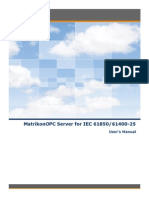 MatrikonOPC Server for IEC 61850 61400-25 User Manual