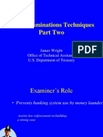 Examination Techniques Part 2