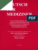 Deutsch Fur Mediziner!