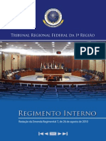 Regimento Interno Do Trf 1 Regiao