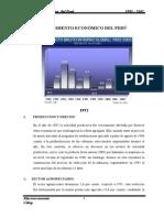 CRECIMIENTO ECONOMICO 1992 - 2002