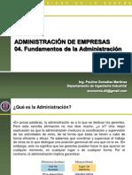 04.Fundamentos de la Administración
