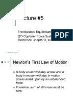 5-Static Equilibrium