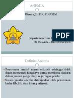 Anemia Presentasi