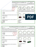 atividade de revisão matematica III unidade