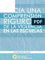 Comprension Rigurosa de La Violencia