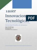 Taller  - Innovaciones Tecnológicas - David Saldaña Zurita