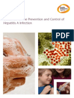 Guidance for the Prevention and Control of Hepatitis a Infection v1.1