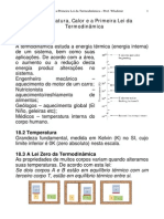 Cap 18 Temp Calor Primeira Lei Termodinamica