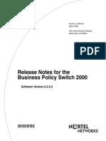 ReleaseNotes Ver 2.0.2.3