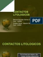Contactos Litologicos.pptx Manolo