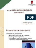 Evaluación de estados de conciencia