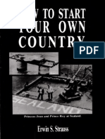 Strauss - How to Start Your Own Country.pdf