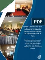 Enfoque de Género y Microfinanzas
