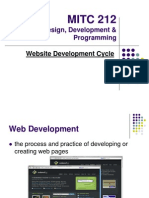 Lecture 02 Web Devt Cycle