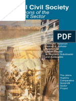 Global Civil Society Dimensions of the Nonprofit Sector - The Johns Hopkins Comparative Nonprofit Sector Project
