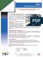 WinCC Fuel Mangement Software