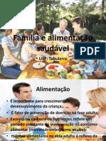 Família e alimentação saudável