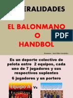 EL BALONMANO.pptx