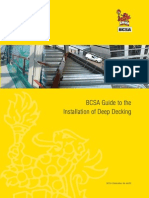 BCSA Guide to the Installation of Deep Decking