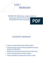 Metrologi Linier